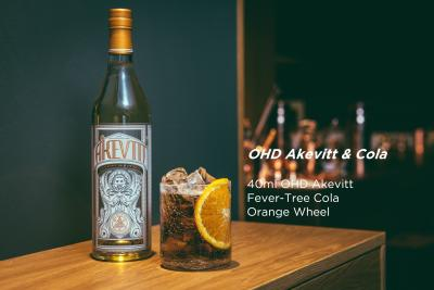 OHD akevitt fever-tree cola